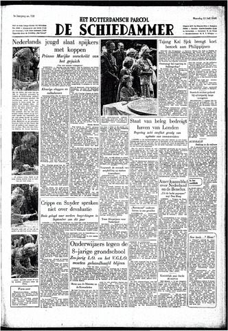 Rotterdamsch Parool / De Schiedammer 1949-07-11
