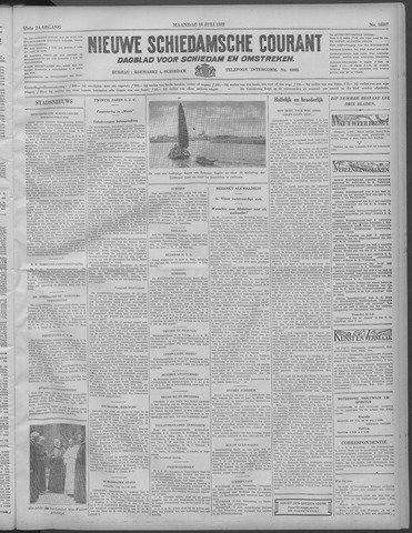 Nieuwe Schiedamsche Courant 1932-07-18