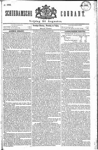 Schiedamsche Courant 1866-08-31