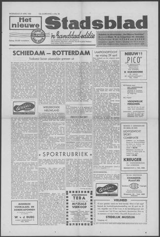 Het Nieuwe Stadsblad 1960-04-27