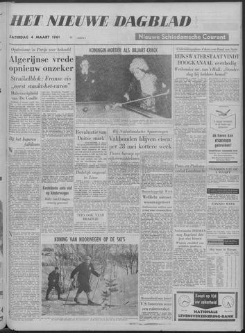 Nieuwe Schiedamsche Courant 1961-03-04