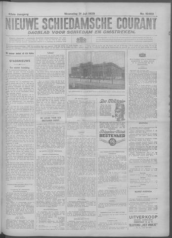 Nieuwe Schiedamsche Courant 1929-07-31