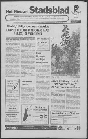 Het Nieuwe Stadsblad 1976-08-27