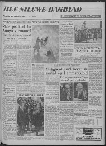 Nieuwe Schiedamsche Courant 1961-02-21
