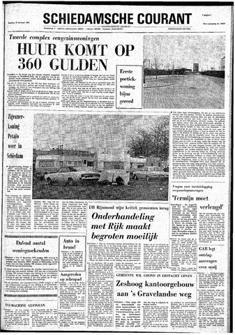 Rotterdamsch Nieuwsblad / Schiedamsche Courant / Rotterdams Dagblad / Waterweg / Algemeen Dagblad 1974-01-22