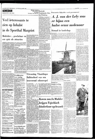 Rotterdamsch Nieuwsblad / Schiedamsche Courant / Rotterdams Dagblad / Waterweg / Algemeen Dagblad 1968-04-20