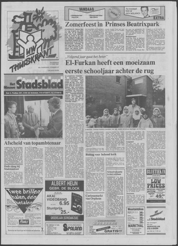 Het Nieuwe Stadsblad 1991-06-12