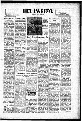 Rotterdamsch Parool / De Schiedammer 1946-09-19