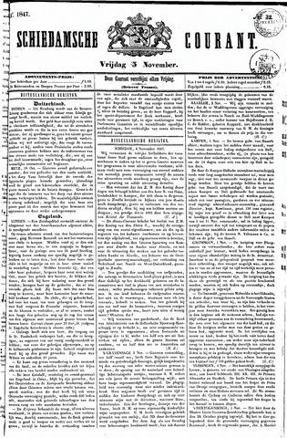 Schiedamsche Courant 1847-11-05