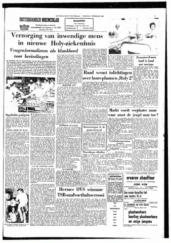 Rotterdamsch Nieuwsblad / Schiedamsche Courant / Rotterdams Dagblad / Waterweg / Algemeen Dagblad 1965-02-05