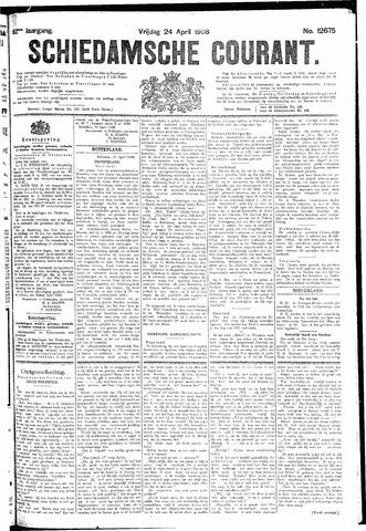 Schiedamsche Courant 1908-04-24