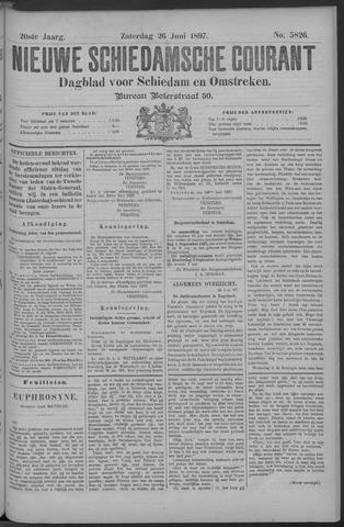 Nieuwe Schiedamsche Courant 1897-06-26