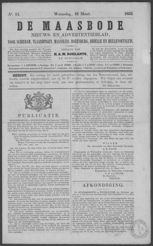 De Maasbode 1853-03-16