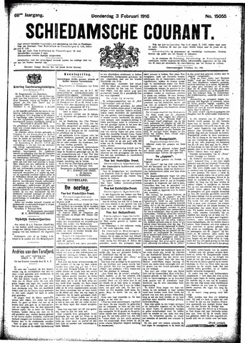 Schiedamsche Courant 1916-02-03