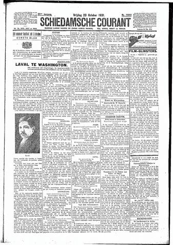 Schiedamsche Courant 1931-10-23