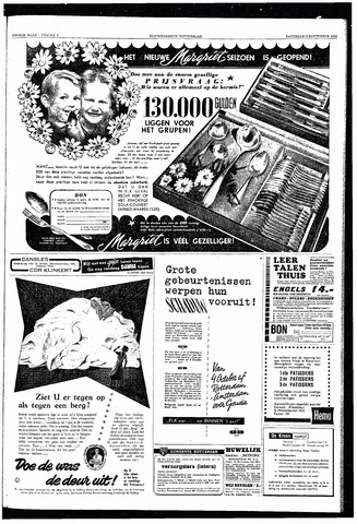 Rotterdamsch Nieuwsblad / Schiedamsche Courant / Rotterdams Dagblad / Waterweg / Algemeen Dagblad 1953-09-05