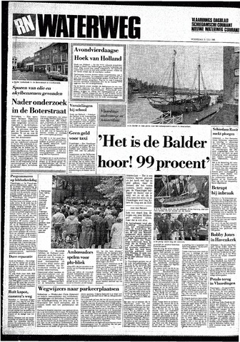 Rotterdamsch Nieuwsblad / Schiedamsche Courant / Rotterdams Dagblad / Waterweg / Algemeen Dagblad 1985-07-31