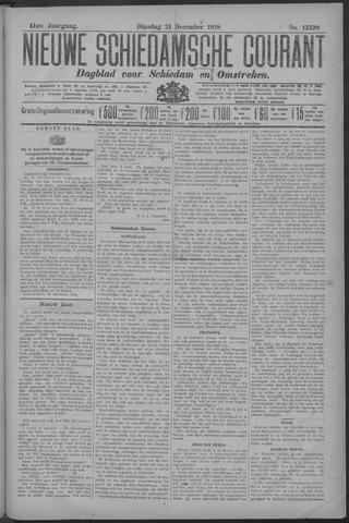 Nieuwe Schiedamsche Courant 1918-12-31