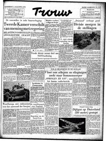 Trouw / De Rotterdammer 1953-08-06
