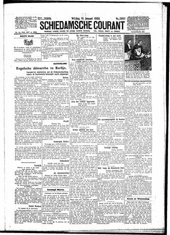 Schiedamsche Courant 1935-01-11
