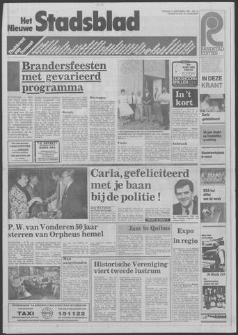 Het Nieuwe Stadsblad 1985-09-13
