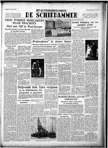 Rotterdamsch Parool / De Schiedammer 1948-03-02