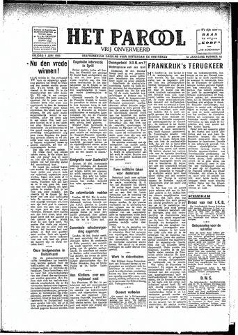 Rotterdamsch Parool / De Schiedammer 1945-06-01