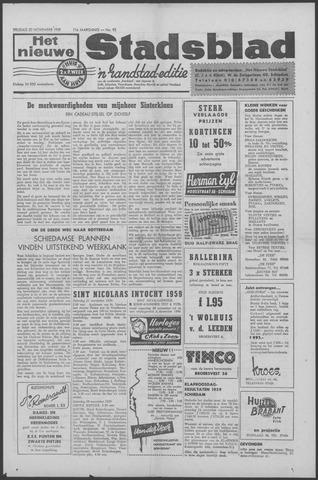 Het Nieuwe Stadsblad 1959-11-20