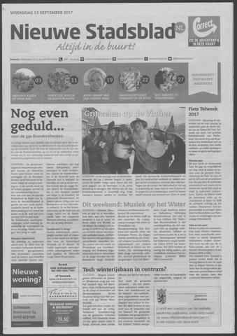 Het Nieuwe Stadsblad 2017-09-13