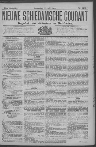 Nieuwe Schiedamsche Courant 1909-07-22