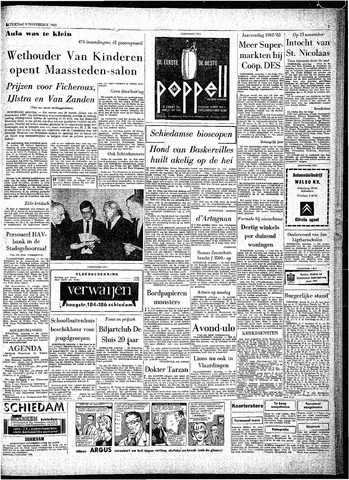 Rotterdamsch Parool / De Schiedammer 1963-11-09