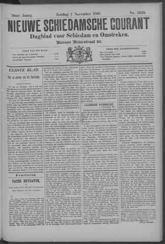 Nieuwe Schiedamsche Courant 1897-11-07