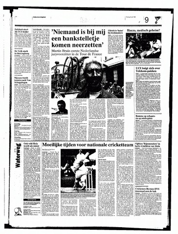 Rotterdamsch Nieuwsblad / Schiedamsche Courant / Rotterdams Dagblad / Waterweg / Algemeen Dagblad 1998-07-10