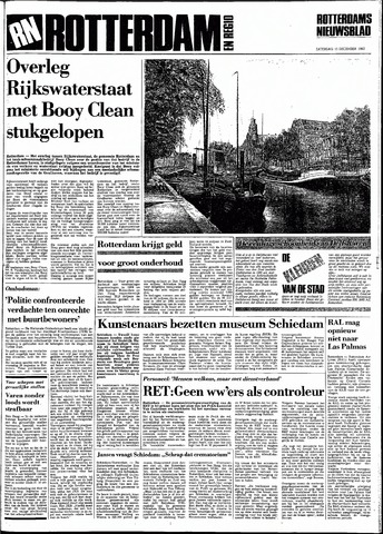 Rotterdamsch Nieuwsblad / Schiedamsche Courant / Rotterdams Dagblad / Waterweg / Algemeen Dagblad 1983-12-10