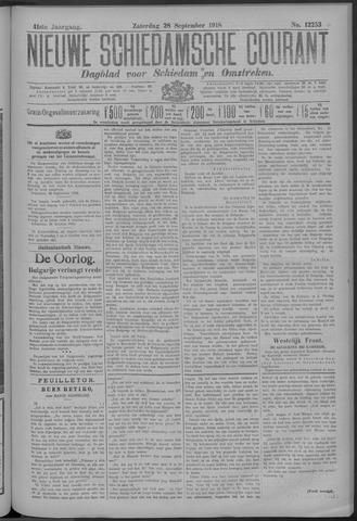 Nieuwe Schiedamsche Courant 1918-09-28