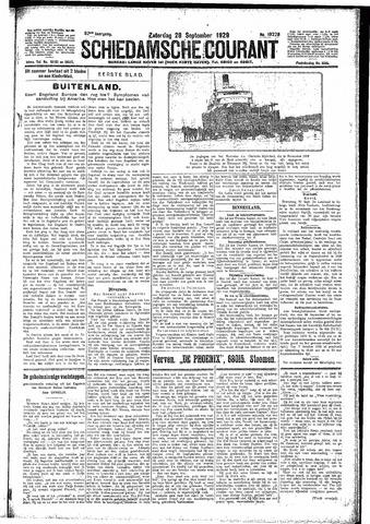 Schiedamsche Courant 1929-09-28