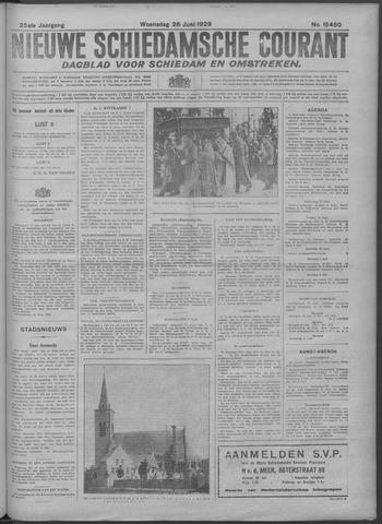 Nieuwe Schiedamsche Courant 1929-06-26