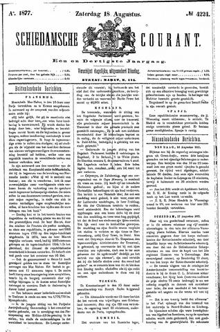 Schiedamsche Courant 1877-08-18