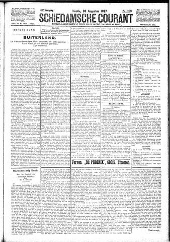 Schiedamsche Courant 1927-08-30
