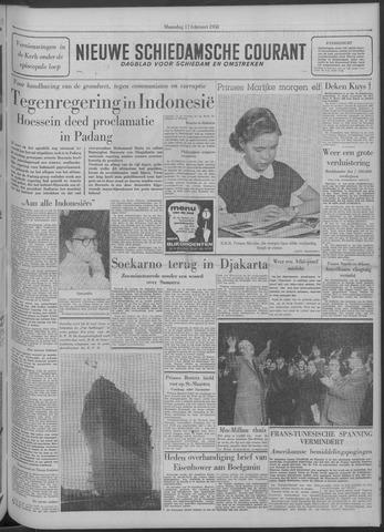 Nieuwe Schiedamsche Courant 1958-02-17