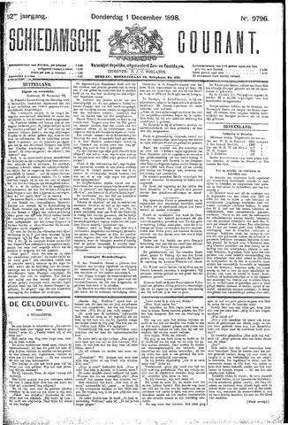 Schiedamsche Courant 1898-12-01