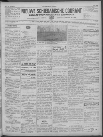 Nieuwe Schiedamsche Courant 1933-05-18