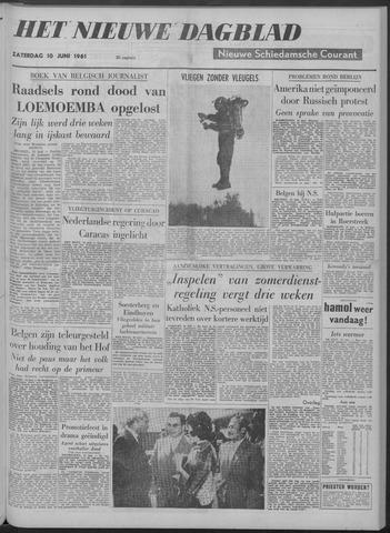 Nieuwe Schiedamsche Courant 1961-06-10