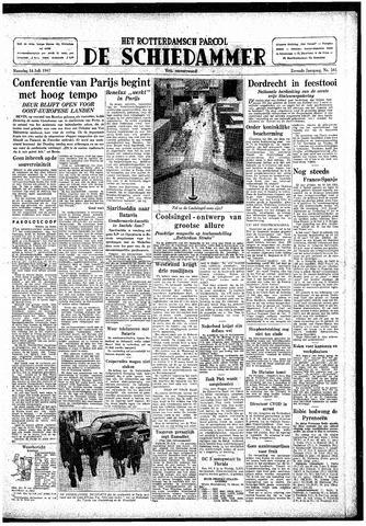 Rotterdamsch Parool / De Schiedammer 1947-07-14