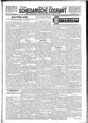 Schiedamsche Courant 1929-07-16
