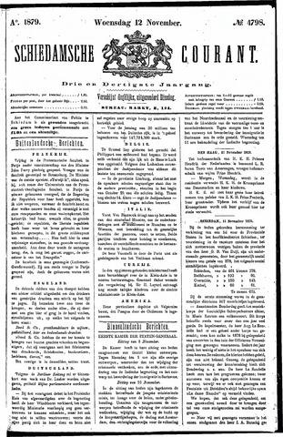 Schiedamsche Courant 1879-11-12
