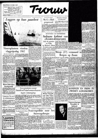 Trouw / De Rotterdammer 1957-05-20