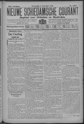 Nieuwe Schiedamsche Courant 1918-09-05
