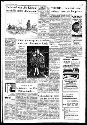 Rotterdamsch Parool / De Schiedammer 1962-02-21