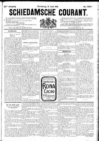 Schiedamsche Courant 1912-04-18